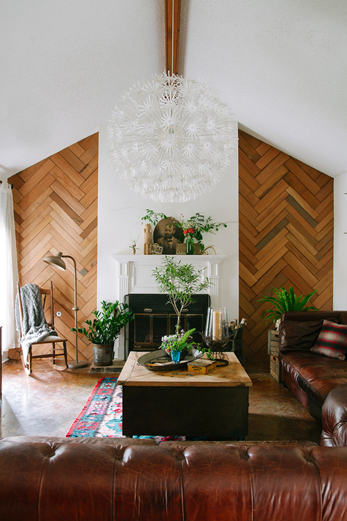 Fancy  Inspiring Accent Walls Created With Only Decor