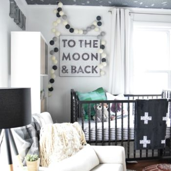 Before & After: Making Safari & Outer Space Work for Baby and Guests Alike