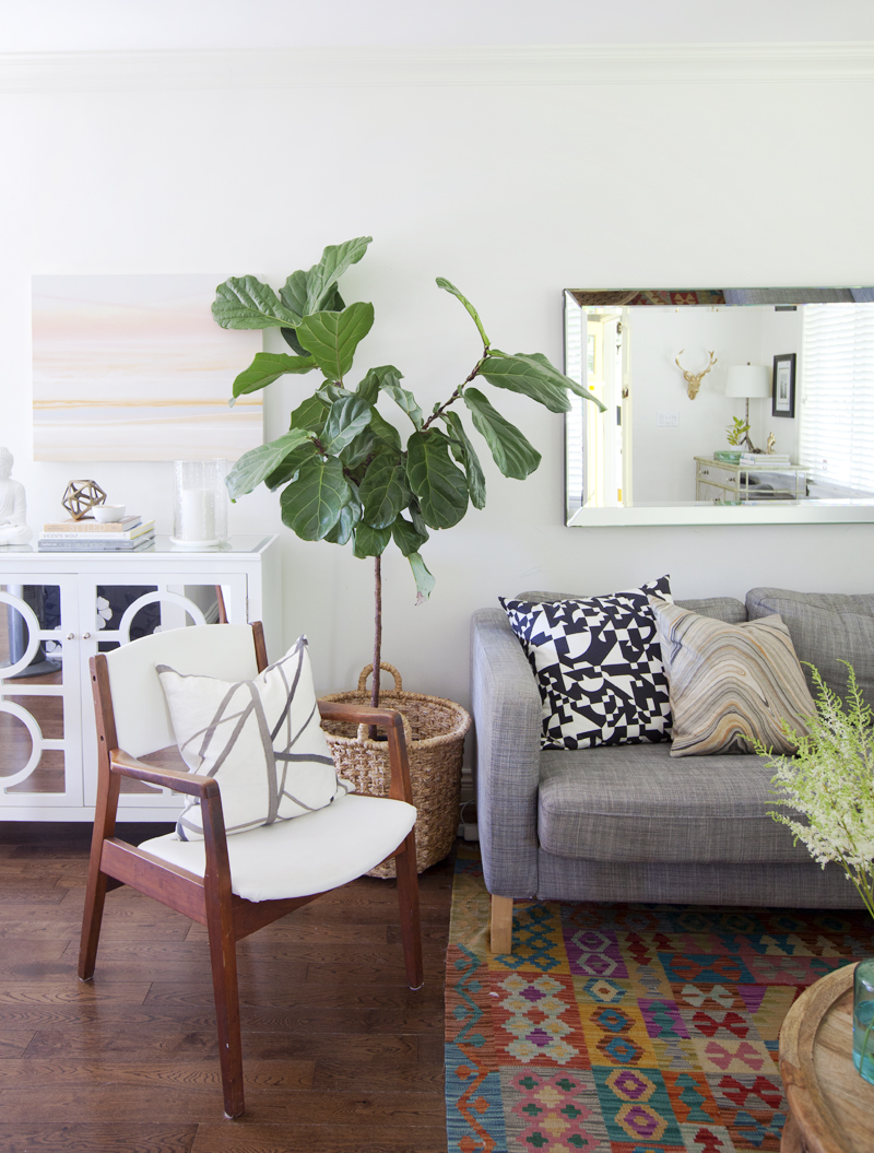 Living Room House Tour of Karla Dreyer at Design*Sponge