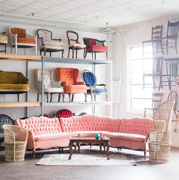 12 Times Pink Sofas Made The Room On Design Sponge