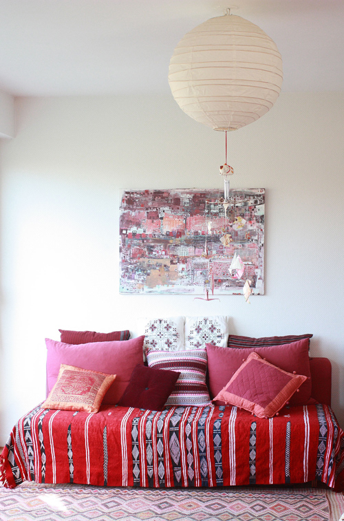 12 Red, White and Blue Interiors for the Fourth on Design*Sponge
