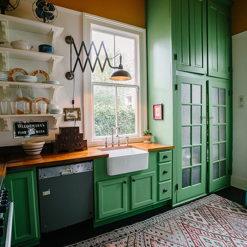 Jolts Of Color Restart An Old New Orleans Home Design Sponge