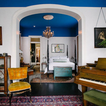 Jolts of Color Restart an Old New Orleans Home