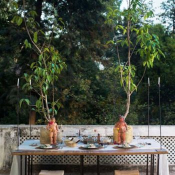 5 Inviting Summer Tablescapes From India