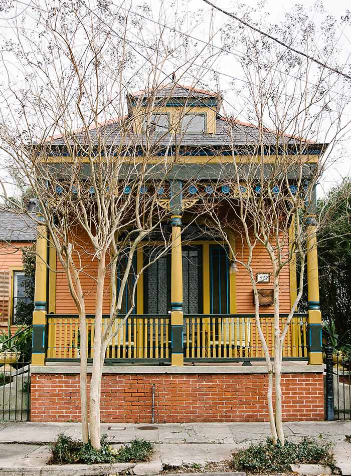 Jolts of Color Restart an Old New Orleans Home, Design*Sponge