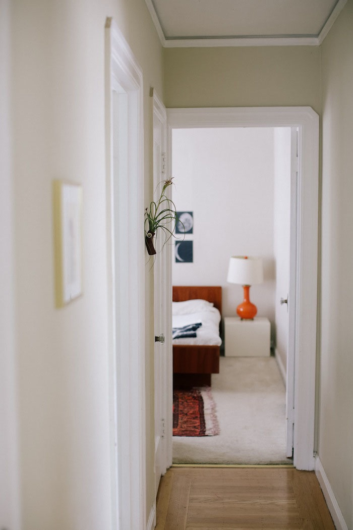 Bedroom View and Vintage Architecture in Abi and Ryan's home on Design* Sponge