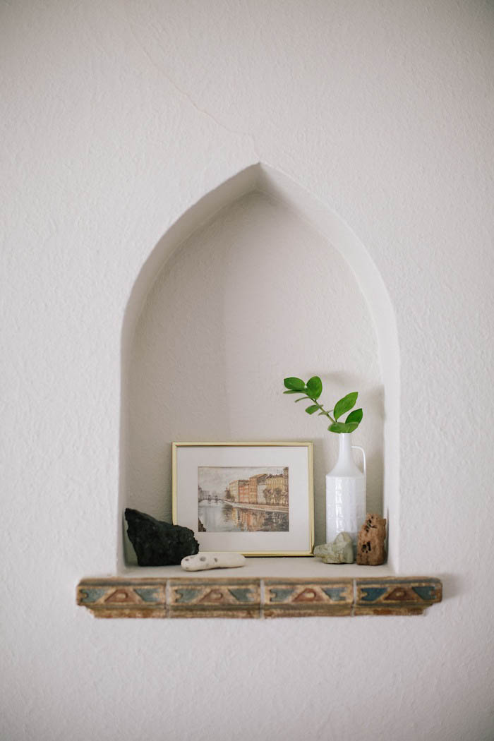 Architectural Nook In Abi and Ryan's Oakland Home on Design* Sponge
