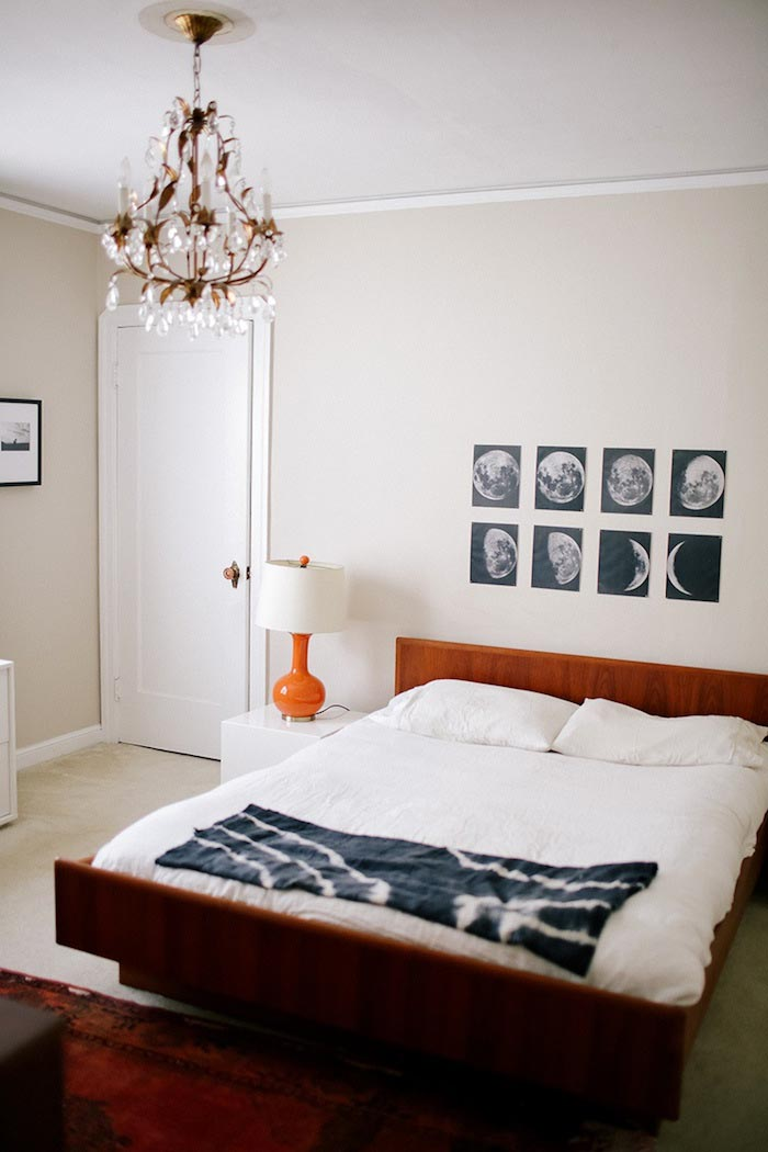 Mid-Century Inspired Master Bedroom From Abi and Ryan's Home Tour on Design* Sponge