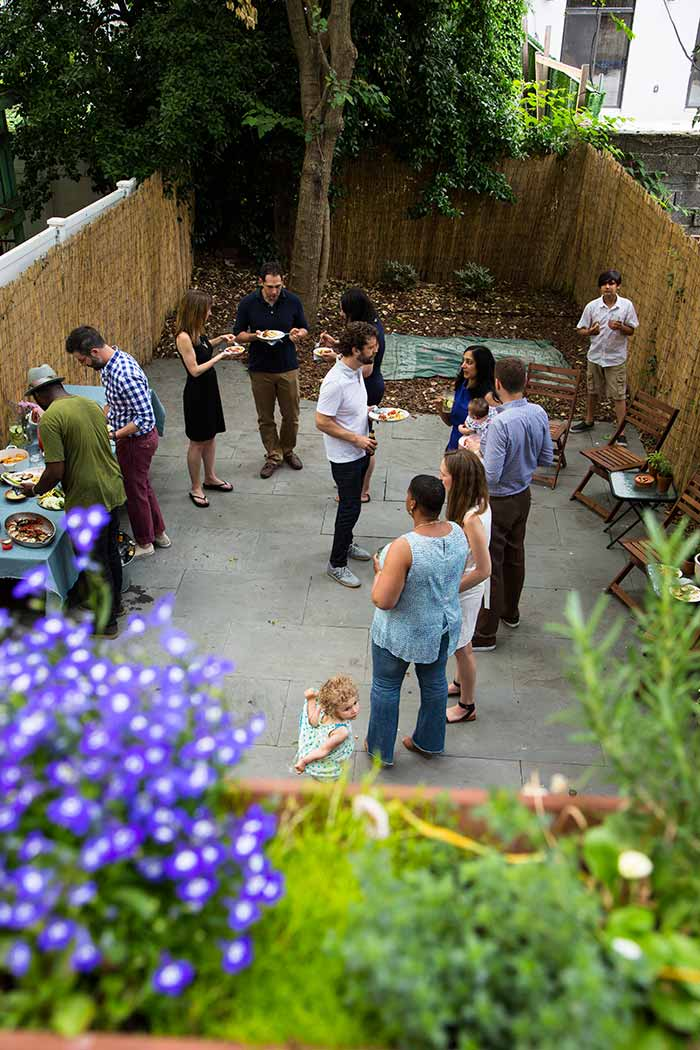 Backyard gathering from Modern Potluck