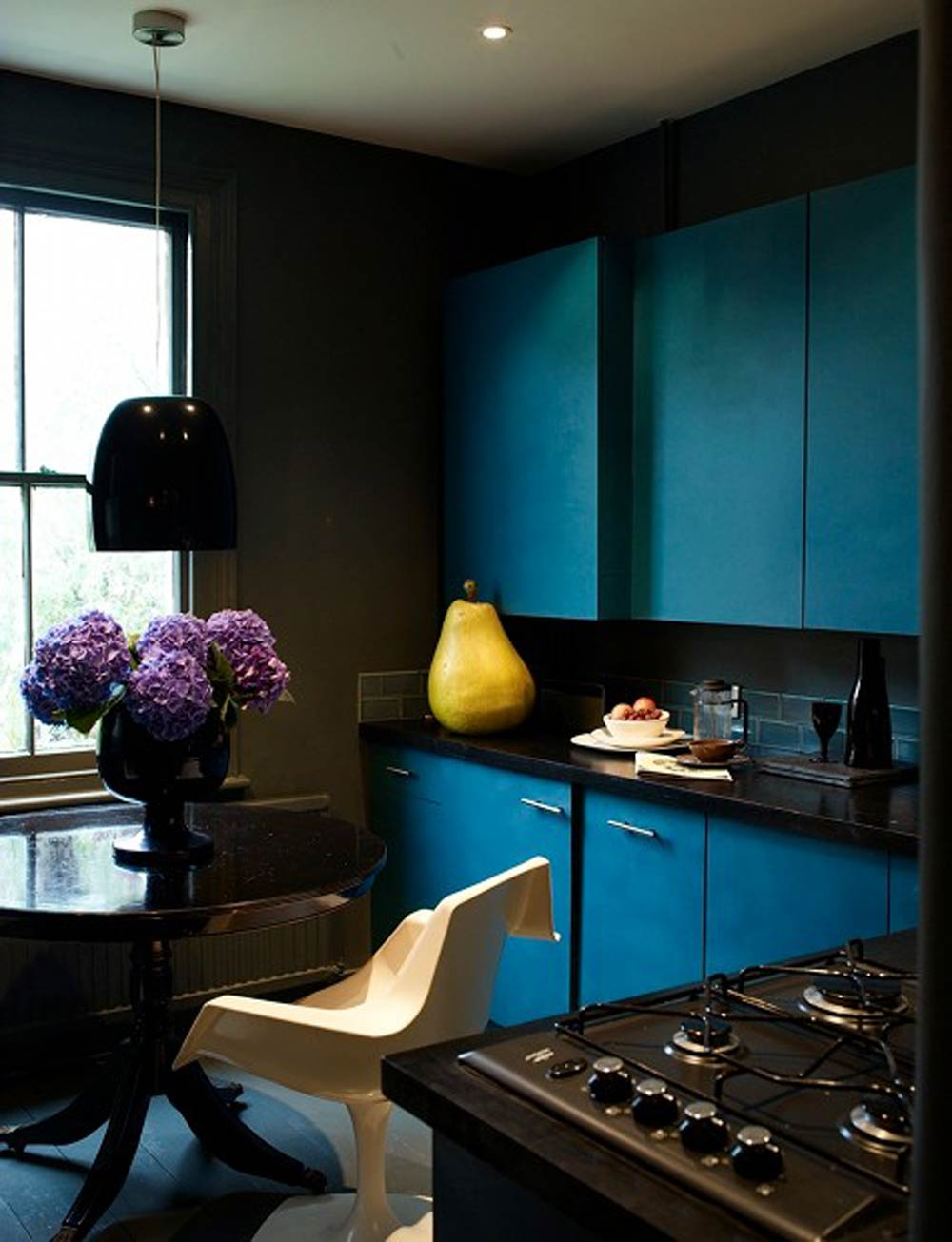 10 Deep Teal Rooms to Die For, on Design*Sponge