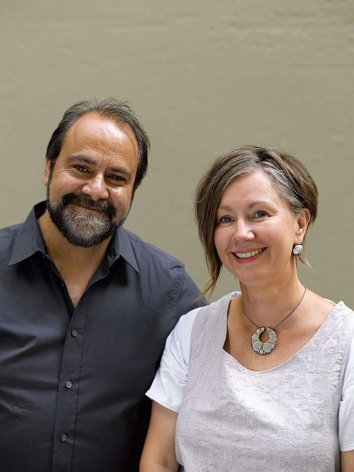 Portrait of Greg and Lucy Malouf