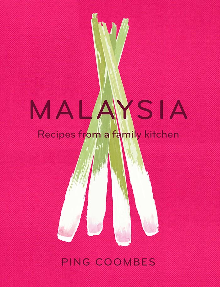 Malaysia cookbook cover by Ping Coombes