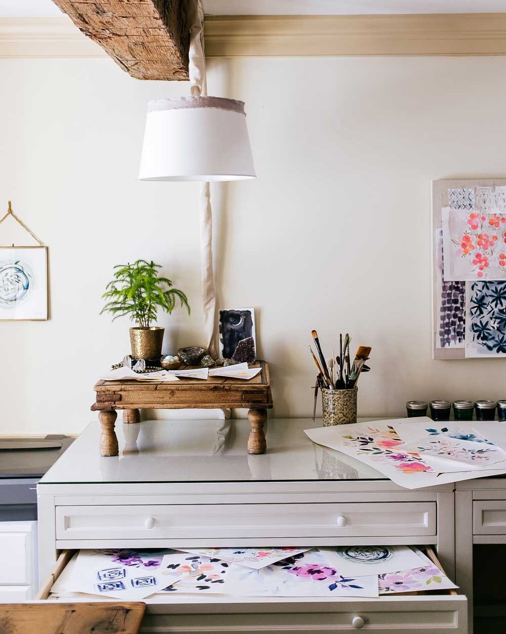 Studio Tour: Stephanie Ryan Art + Alchemy, on Design*Sponge