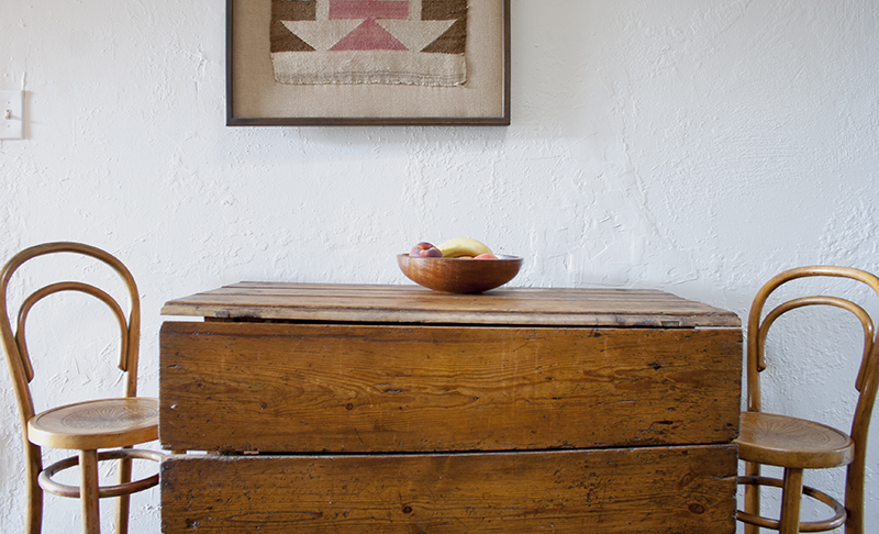 Kitchen table from Desert Vintage's home tour