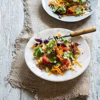 In the Kitchen With: Greg and Lucy Malouf's Toasted Quinoa Salad
