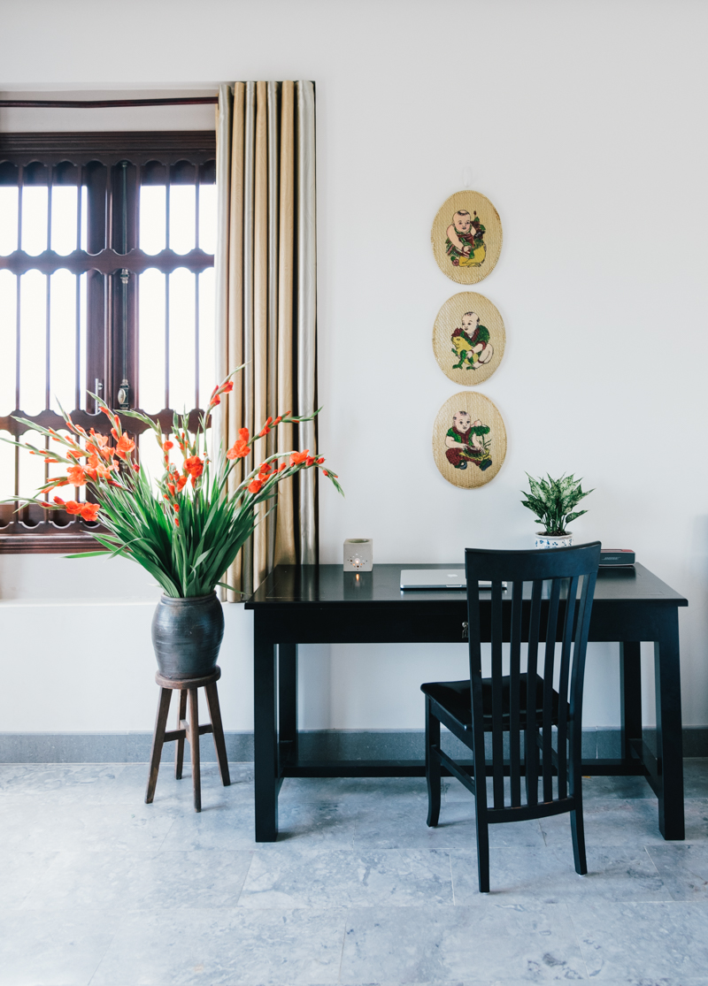 Home office in Linh Nguyen's home tour on Design*Sponge