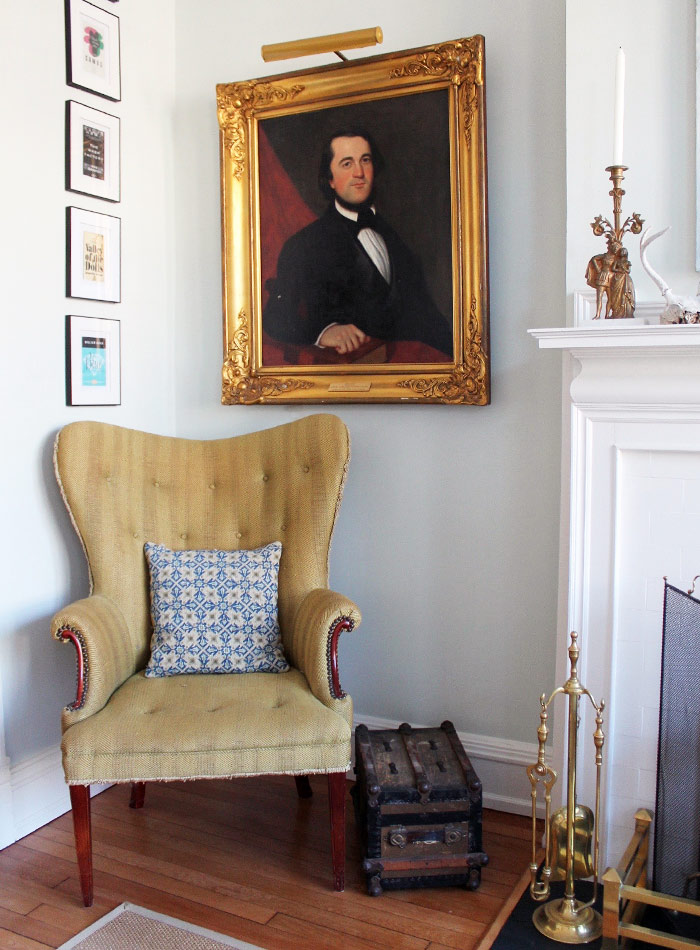 Heirlooms & Thrifty Decorations Enrich a Century-Old Victorian, Design*Sponge