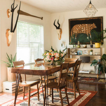 In Florida, The Rustic Bungalow of Two Florists