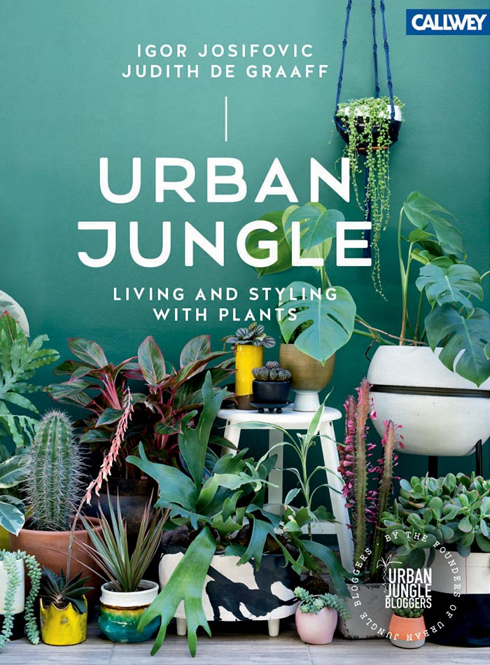 Book Preview: Urban Jungle: Living & Styling with Plants, Design*Sponge