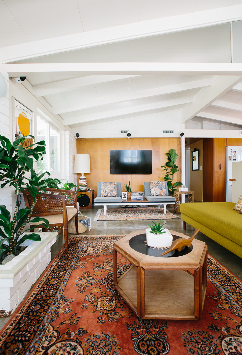 A Vintage Lover's Home in Long Beach