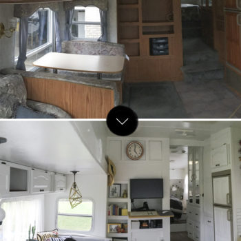 Before & After: Converting 188 Square Feet on Wheels into a Home