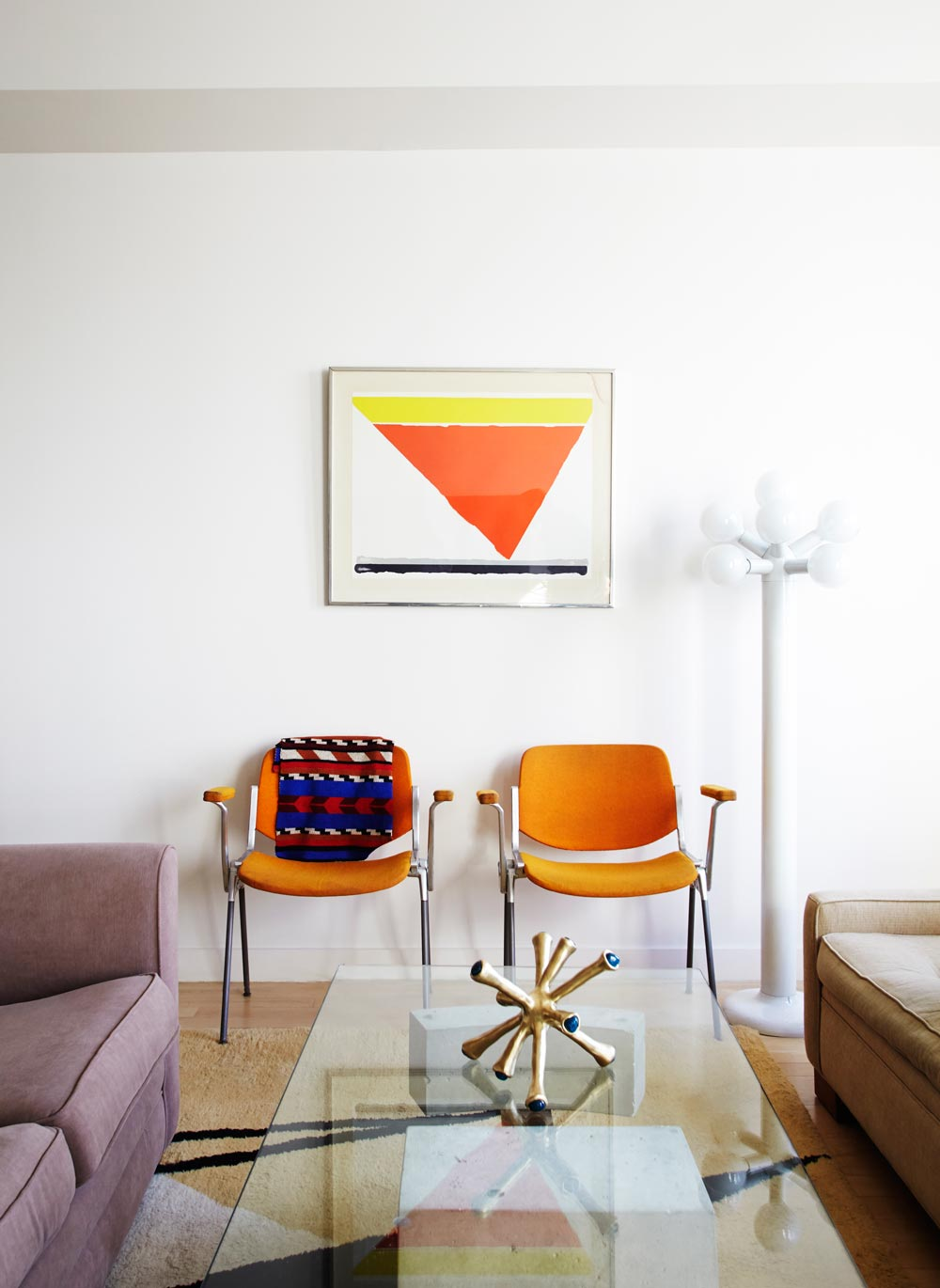 Living and Working Downtown With Postmodern Treasures, on Design*Sponge