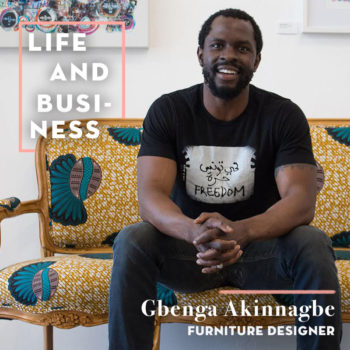 Boldly Tackling the Unknown with Gbenga Akinnagbe