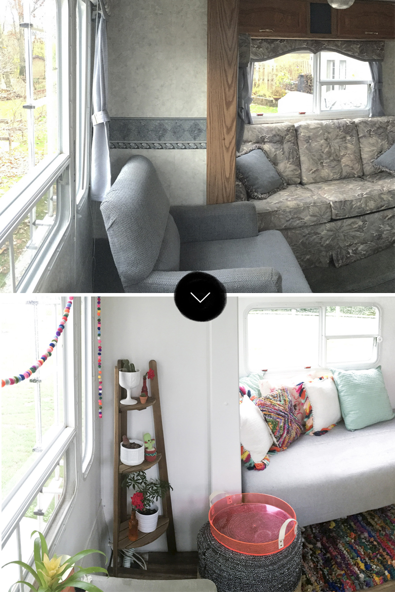 Before and After: Converting 188 sq ft into a Home on Design*Sponge
