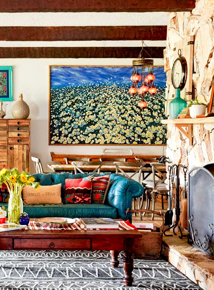 A Farmhouse in Florida Rich in Colorful Rustic Decor, Design*Sponge