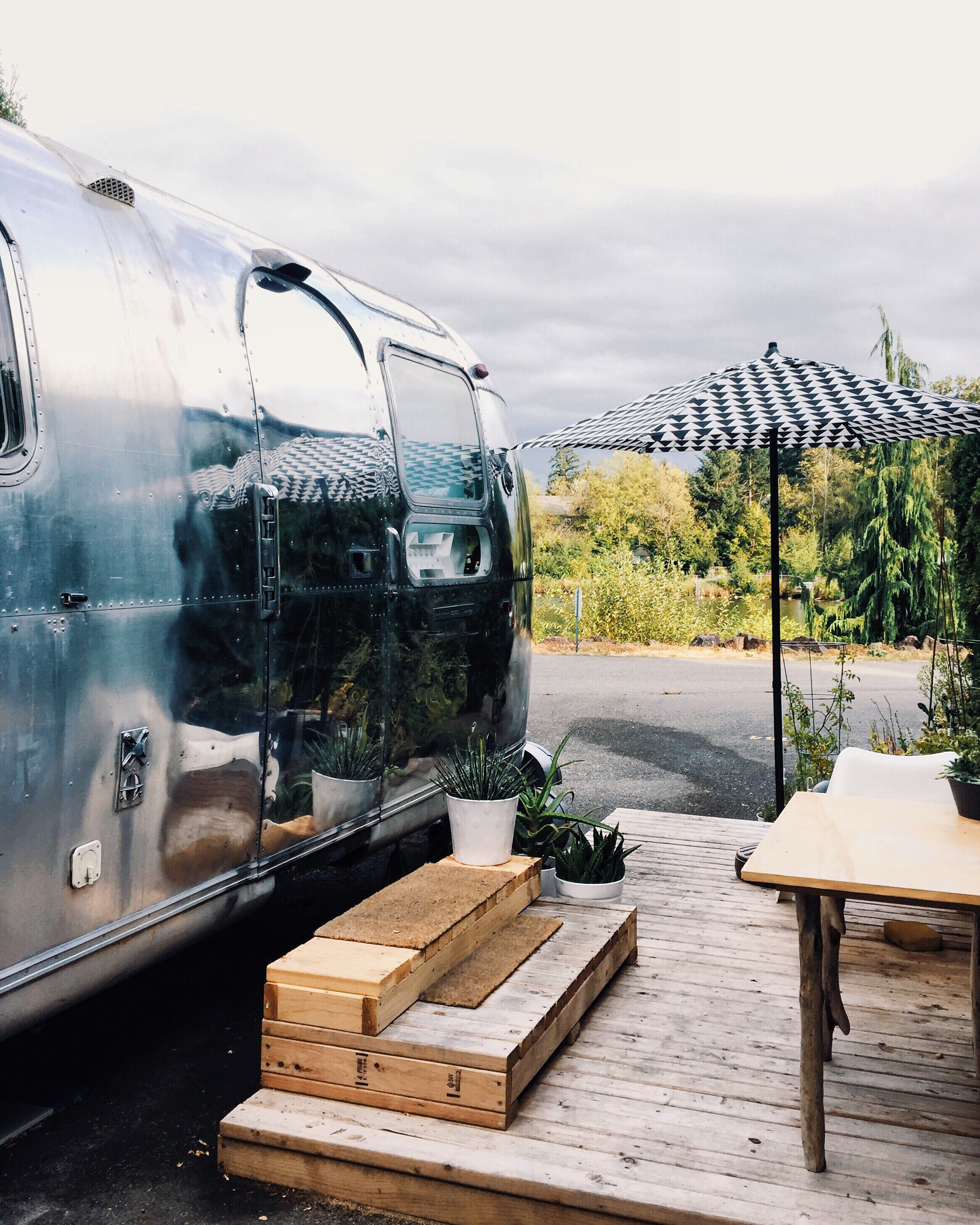 Before and After: An Airstream In Seattle Gets a Complete Makeover