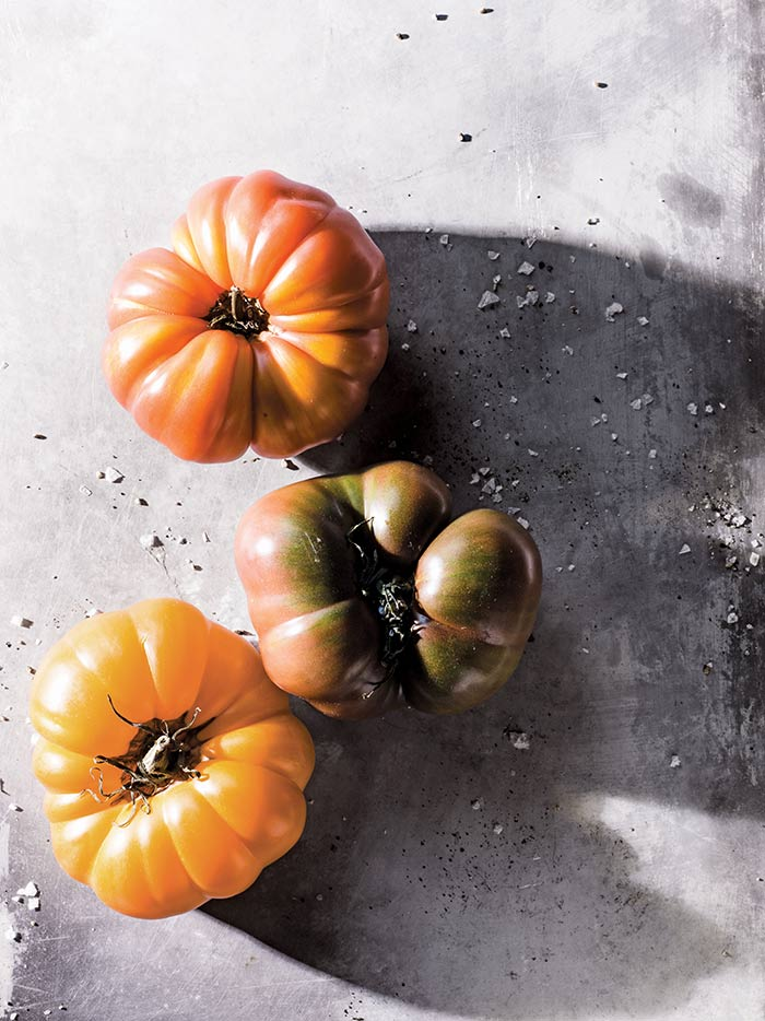 Tomatoes from Victuals by Ronni Lundy, photographed by Johnny Autry on DesignSponge