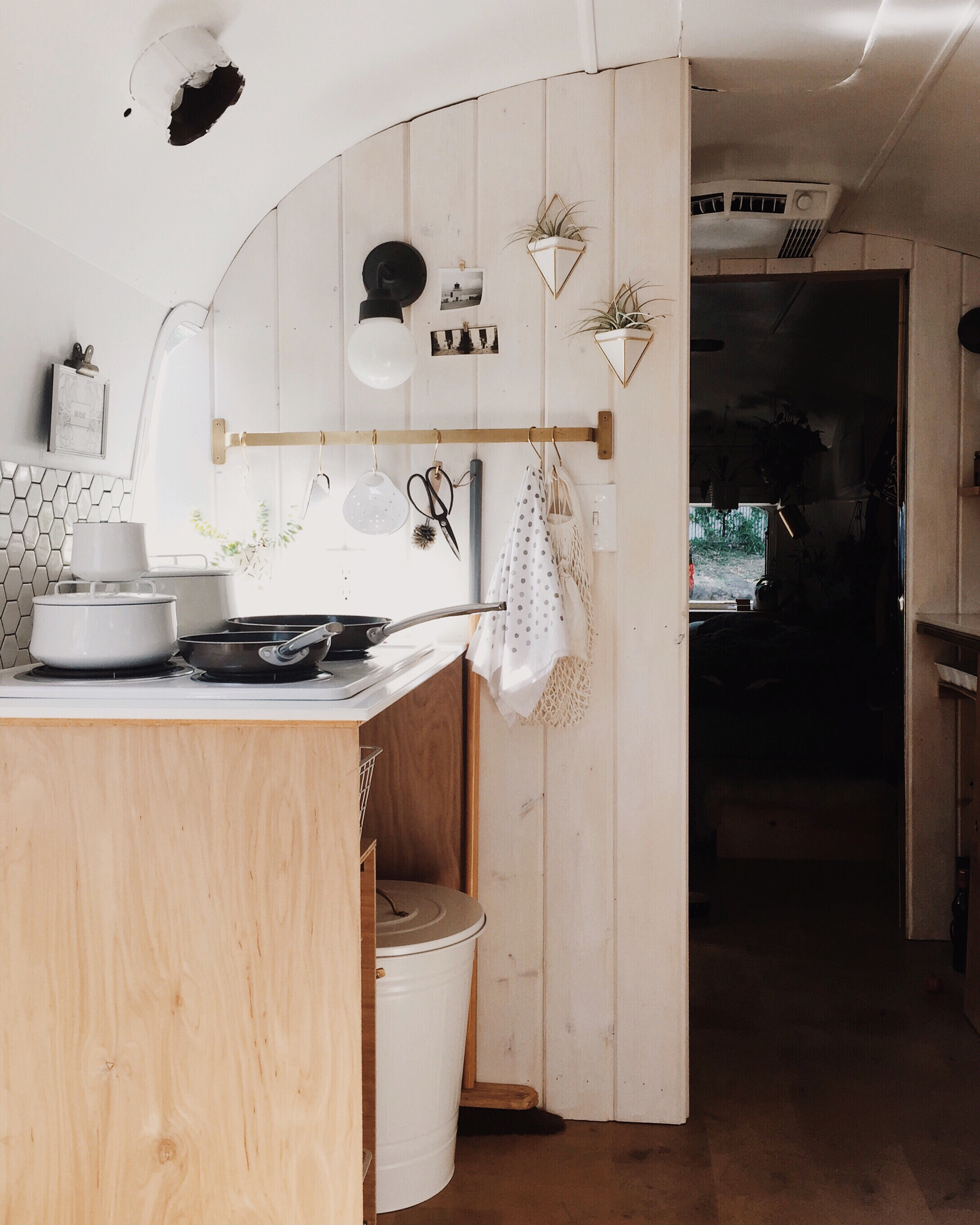 Before After An Airstream Trailer In Seattle Gets A
