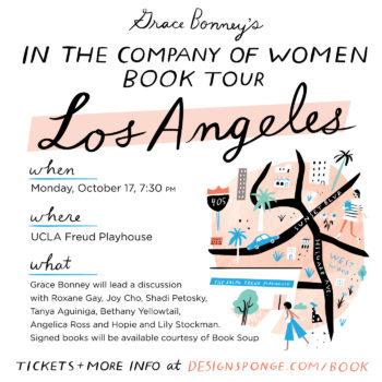 Design*Sponge Book Tour: Los Angeles, CA!