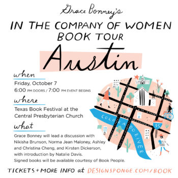 Design*Sponge Book Tour: Austin, TX!