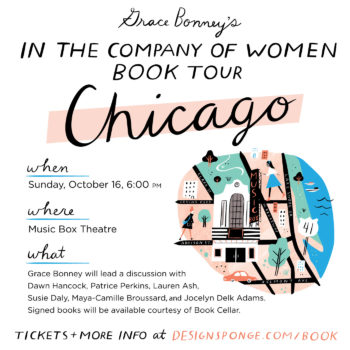 Design*Sponge Book Tour: CHICAGO!