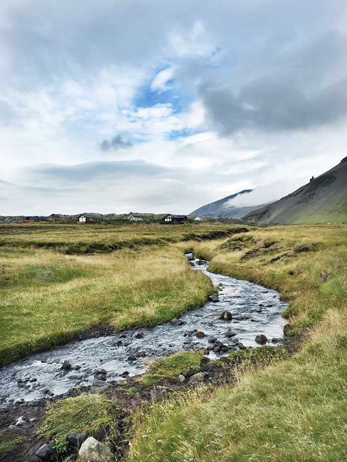 Iceland landscape by Jen CK Jacobs on DesignSponge