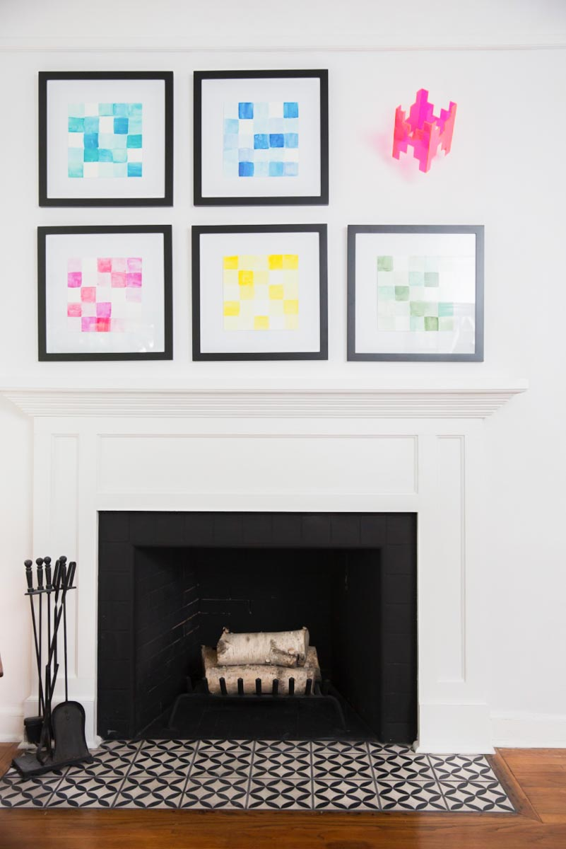 A Des Moines, IA Living Room Gets an Artful Makeover | Design*Sponge