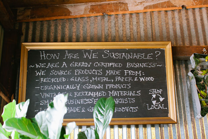 Certified Green Business, Gorgeous And Green, Shares Their Commitment To Sustainability In Their Design* Sponge Studio Tour