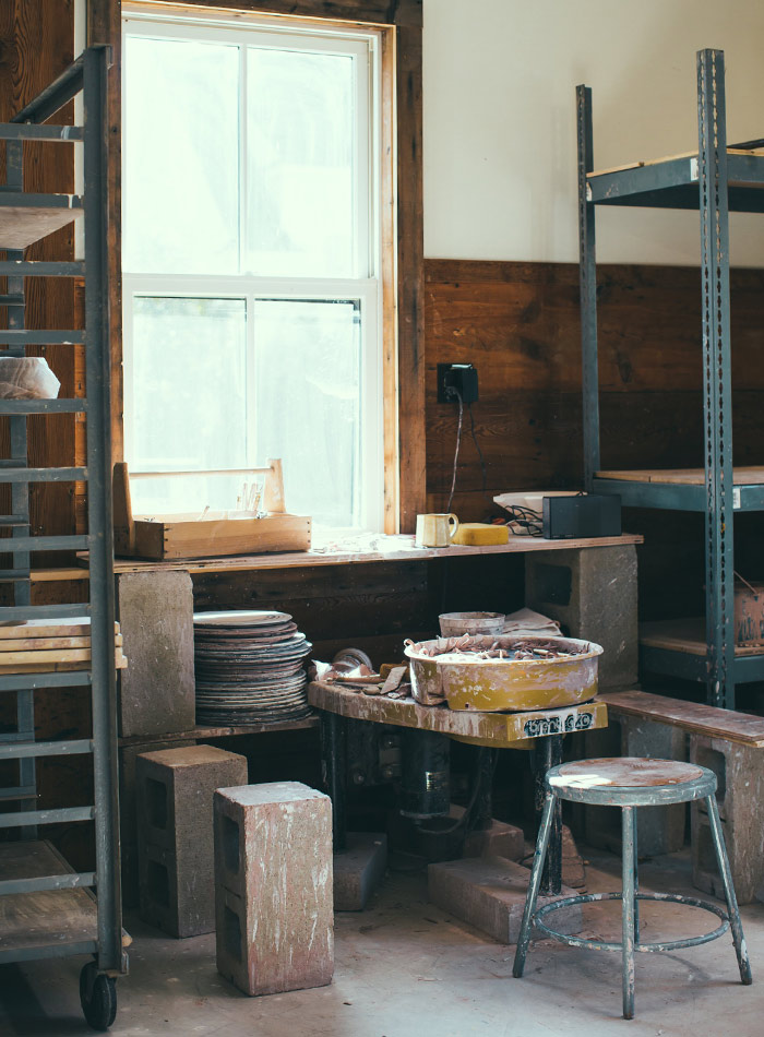 Studio Tour: Jeremy Ayers Pottery, Design*Sponge