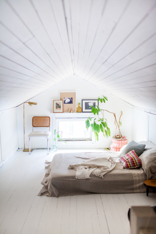 Leah Verwey And Rob Simonsen's Portland Guest Bedroom Attic On Design*Sponge