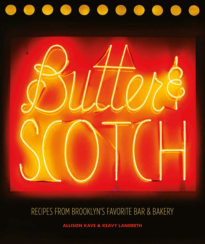 Butter and Scotch cookbook cover by Keavy Landrey and Allison Kave | DesignSponge