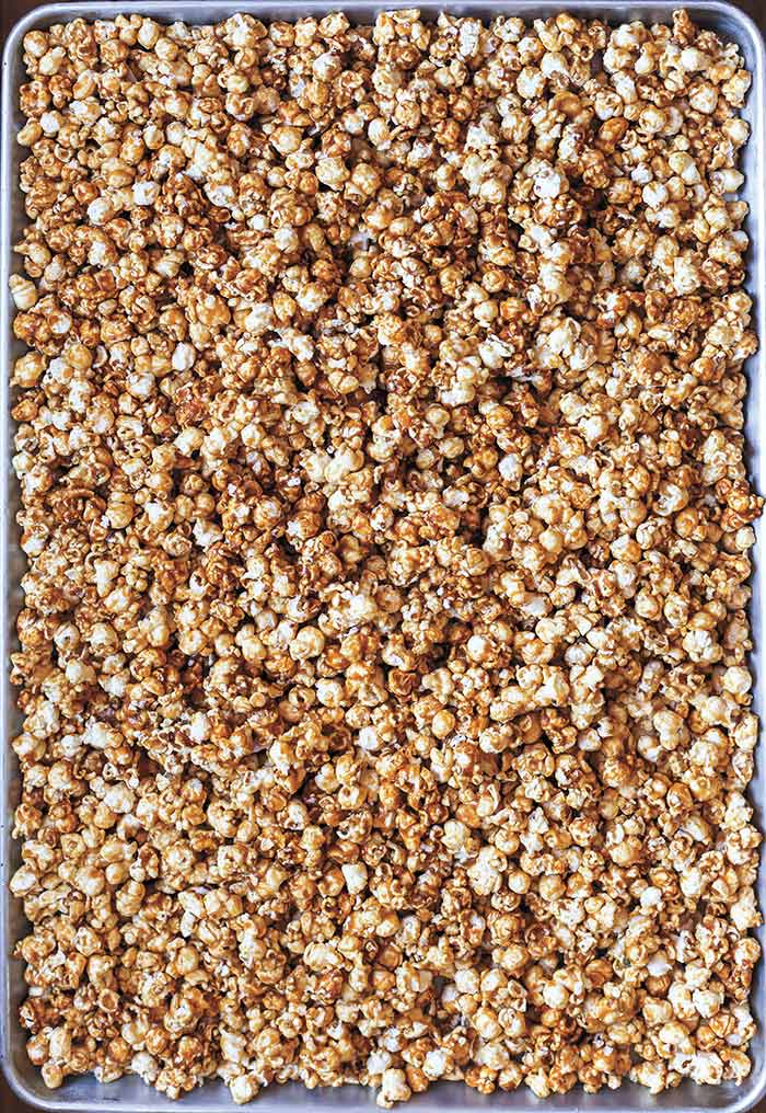 Dark and Stormy Caramel Corn from cookbook Butter and Scotch   DesignSponge