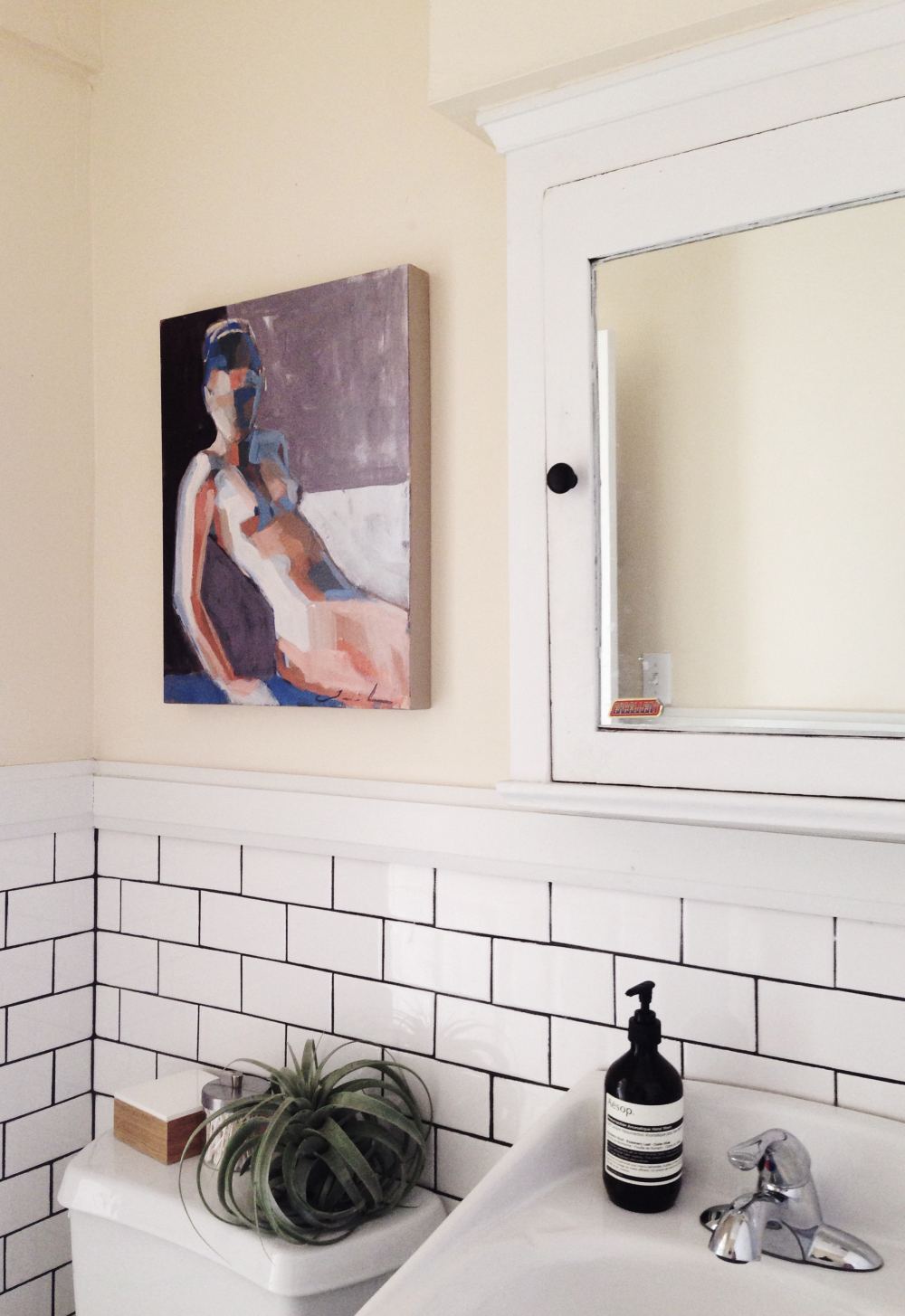 Casey's Love Of Art Extends To All Rooms Of Her Hotel Turned Portland Apartment