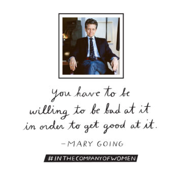 Inspiring Words from <em>In the Company of Women</em>: Mary Going