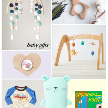 2016 Gift Guide: Babies, Toddlers + Kids