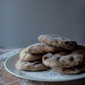 In the Kitchen With: Brett Braley's Cinnamon Naan Elephant Ears