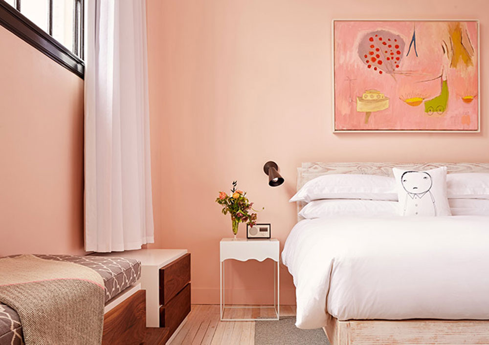 10 Perfect Pink Bedrooms, on Design*Sponge