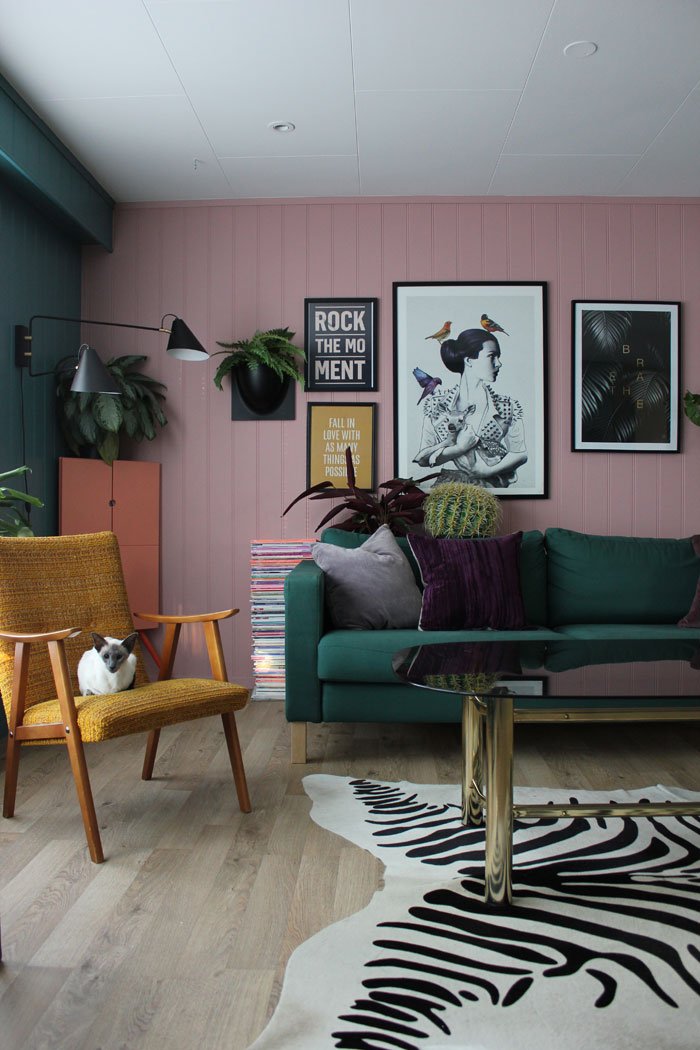 Simone's Northern Norway Home Is Filled With Lots Of Color And Patterns On Design*Sponge