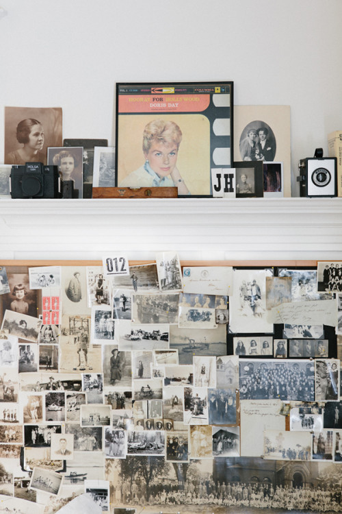 Vintage Photographs Make For a Beautiful Backdrop In This San Francisco Home On Design*Sponge