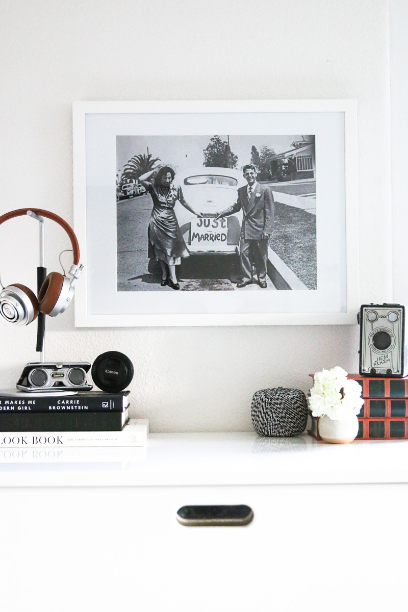 A Modern Palette And Minimal Vignette In This HollyWood Home On Design*Sponge
